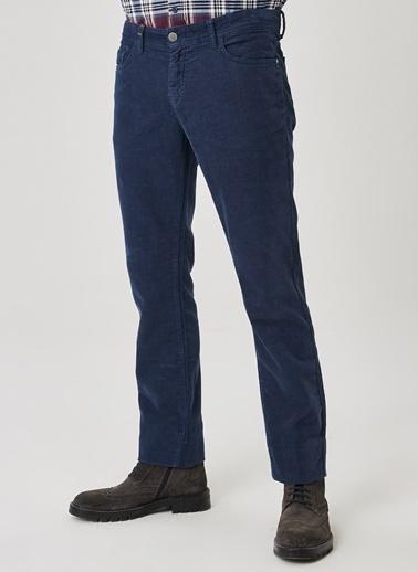 Beymen Business 4B0120100026 Slim Fit Kadife Erkek Pantolon Lacivert